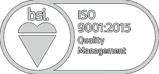 BSI Assurance Mark ISO-9001 (logo)