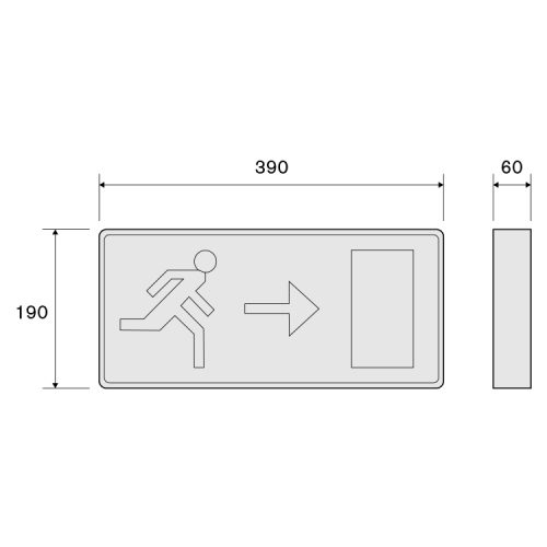 Emergency Exit Signs Box