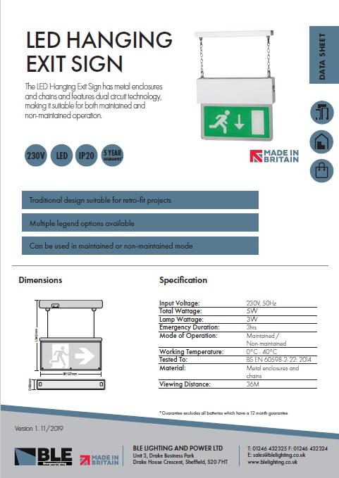 BE3 Data Sheet
