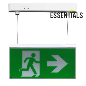 BE3D Green Exit Signs