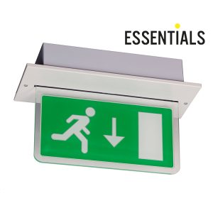 LED Recessed Exit Sign