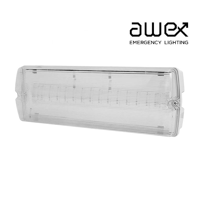 Awex Solar 1W LED Emergency Slave Bulkhead