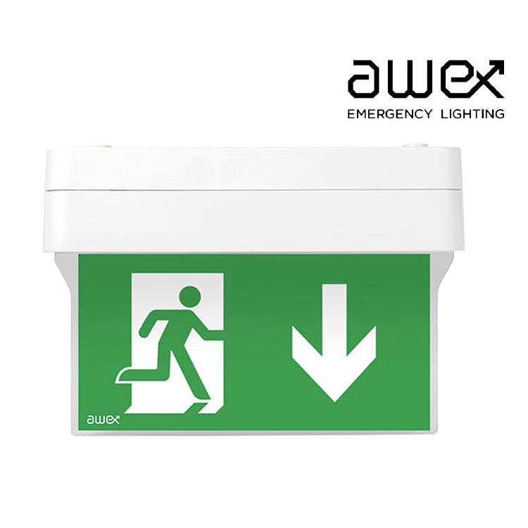 Awex Spectrum M 1W LED Exit Sign