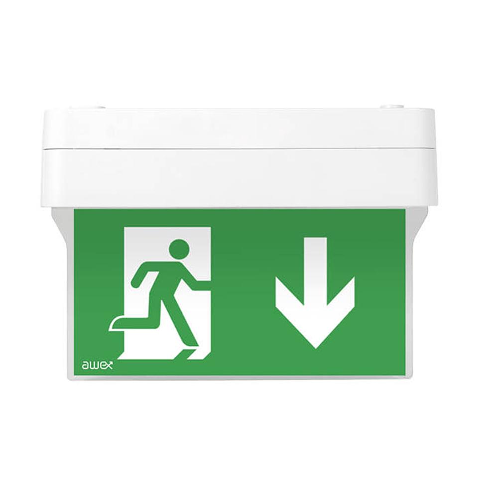 Awex Spectrum M 1W LED Exit Sign