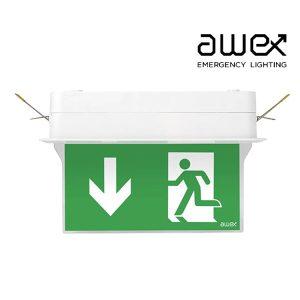 Awex Spectrum R 1W LED Exit Sign