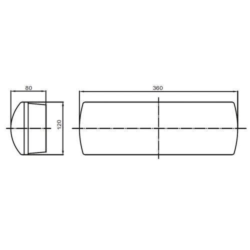 Solar Line Drawing