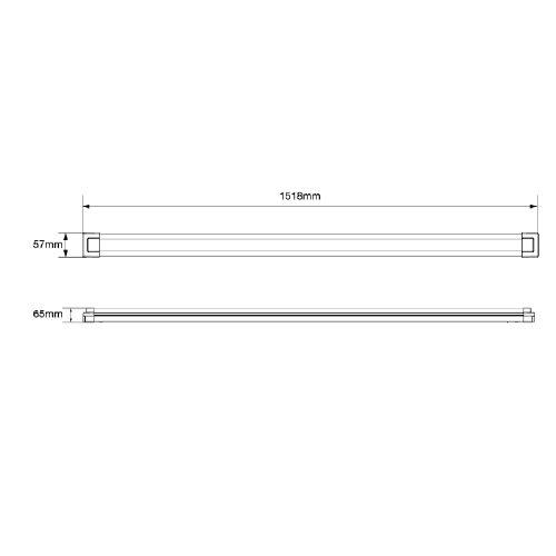 LED Batten 230v mains